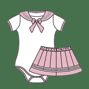 Bodysuit Skirt Sets